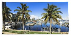 Fort Myers Yacht Club 2 Bath Towel