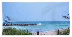 Fort Pierce Inlet Hand Towel