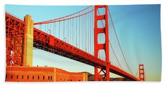 Fort Ross At The Golden Gate Bath Towel