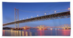 Forth Bridges Bath Towel