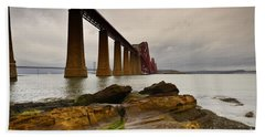 Forth Rail Bridge Hand Towel