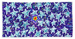 Forty Nine Stars Hand Towel