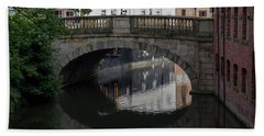 Foss Bridge - York Bath Towel by Scott Lyons
