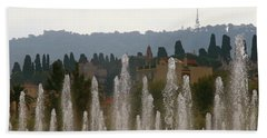 Fountains At Dawn Bath Towel