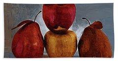 Four Fruits Bath Towel by Kirt Tisdale