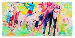 Four Horsemen Bath Towel