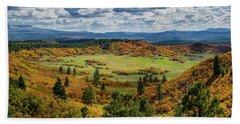 Four Mile Road Peak Color Hand Towel