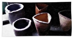Four Of Cups Hand Towel by Joan Reese