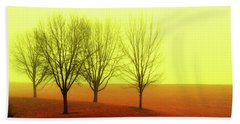 Four Trees Hand Towel