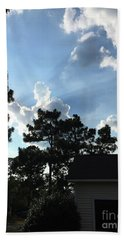 Fourth Of July Angel Cloud Hand Towel