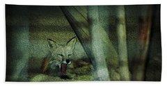 Fox Cry Hand Towel