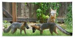 Fox Family Bath Towel