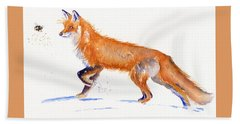Fox Hunt Bath Towel