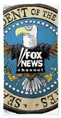 Fox News Presidential Seal Bath Towel