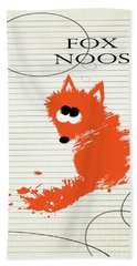 Fox Noos Hand Towel