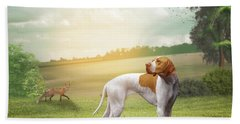 Foxhound Hand Towel
