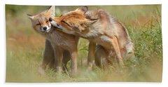 Foxy Love Series - But Mo-om II Bath Towel