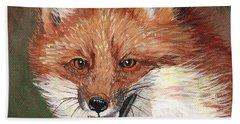 Foxy Hand Towel