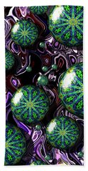 Fractal Abstract 7816.5 Hand Towel