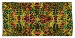 Fractal Anomaly 5 Bath Towel