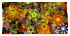 Fractal Floral Study 10-27-09 Hand Towel