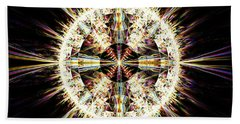 Fractal Jewel Bath Towel