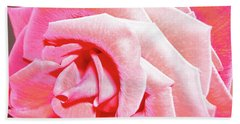 Hand Towel featuring the photograph Fragrant Rose by Marie Hicks