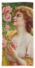Fragrant Roses Hand Towel