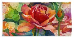 Fragrant Roses Hand Towel