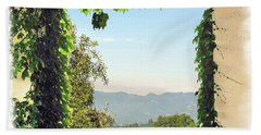 Hand Towel featuring the photograph Framing Napa Valley by Joan  Minchak