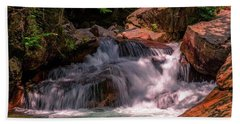 Franconia Notch 2 Bath Towel by Sherman Perry