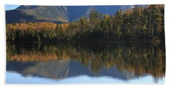 Franconia Ridge From Lonesome Lake Bath Towel by Roupen  Baker
