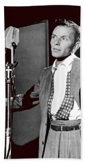Frank Sinatra William Gottlieb Photo Liederkranz Hall New York City 1947-2015 Hand Towel
