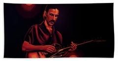 Frank Zappa 2 Hand Towel by Paul Meijering