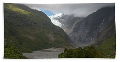 Bath Towel featuring the photograph Franz Josef Glacier  by Cheryl Strahl