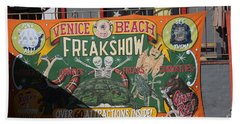 Freak Show  Bath Towel by Chuck Kuhn