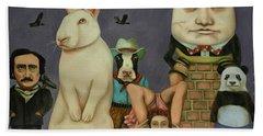 Freak Show Hand Towel by Leah Saulnier The Painting Maniac