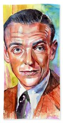 Fred Astaire Painting Hand Towel