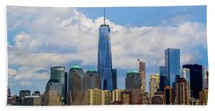 Freedom Tower Nyc Hand Towel