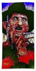 Freddy Krueger Hand Towel