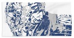 Frederik Andersen Toronto Maple Leafs Pixel Art 3 Hand Towel