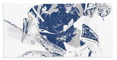 Frederik Andersen Toronto Maple Leafs Pixel Art 5 Hand Towel