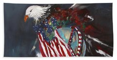 Freedom Rings Bath Towel