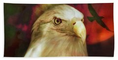 Freedom To Fly Bath Towel