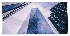 Freedom Tower Crayon Sketch Hand Towel