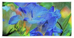 Freesia's Of Beauty Hand Towel