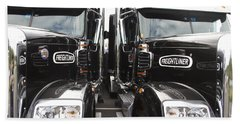 Freightliner Bath Towel by Alice Gipson
