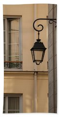 French Alley Lantern Bath Towel