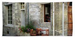 French Countryside Corner Bath Towel