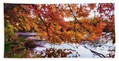 French Creek 15-107 Hand Towel by Scott McAllister